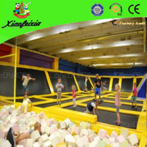 Big Size Air Trampoline Park with Foam Pit (1426W) pictures & photos