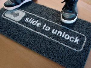 Colorful PVC Door Floor Mat, Inlayed pictures & photos
