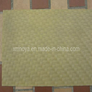 Good Quality Simulated Bamboo Plastic Mat for Decoration pictures & photos