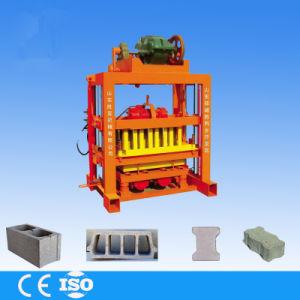 Manual Concrete Block Moulding Machine pictures & photos