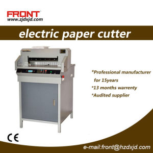 Small Size Electric Paper Cutting Machine with 460mm (Fn-4605R) pictures & photos