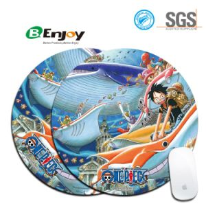 Round Shape Custom Printing Cheap Promotional Mouse Mat pictures & photos