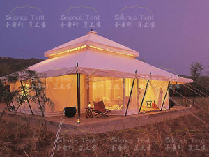 Eco Pagoda Roof Safari Tent Glamping Tent for Sale pictures & photos
