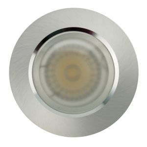 Lathe Aluminum GU10 MR16 Round Fixed Recessed LED Bathroom Downlight (LT2904) pictures & photos