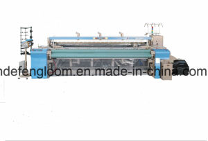 High Speed Air Jet Loom Weaving Cotton Fabric with Dobby Shedding pictures & photos