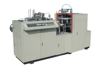 China Supplier Single Side PE-Coated Paper Cup Forming Machine pictures & photos