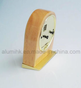 Table Wooden Alarm Clock for Hotel pictures & photos
