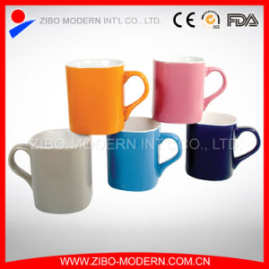 Wholesale Tableware Square Ceramic Mug with Handle pictures & photos