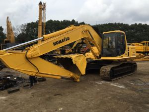 Used Good Performance Komatsu PC220-6 Crawler hydraulic Excavator for Sale pictures & photos