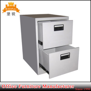 Office Furniture Metal Filing Cabinet with 2 Drawrs pictures & photos