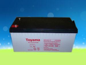 12V240ah Good Quality Gel Battery Sealed Lead Acid Npg240-12 pictures & photos
