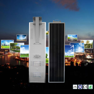 5W-80W High Lumen All in One Solar Street Light Integrated Solar Garden Light pictures & photos