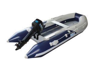 Inflatable Sport Boat PVC Watercraft Aluminum Floor