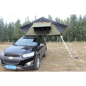 4WD Shake Handle Hard Shell CE Camping Car Top Tent pictures & photos