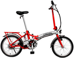 Red Color Folding Electric Bike Foldable E-Bicycle Folded E Bicycle Scooter Shimano Accessories pictures & photos