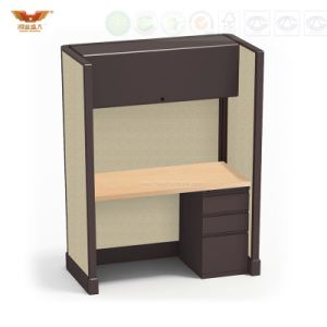 Attractive Modern Demountable Office Workstations with Side Cabinet pictures & photos