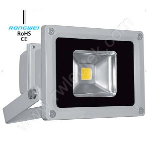 IP65 10W Cool White CE LED Floodlight for Outdoor