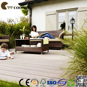Decoration Material Hollow Composite Decking Types pictures & photos