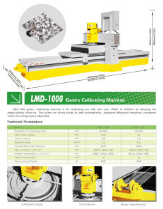 Stone Calibrating Machine-Continous Calibrating Machinery for Marble/Granite pictures & photos