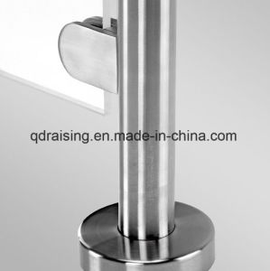 Stainless Steel Glass Railing for Outdoor Stairs and Handrails pictures & photos