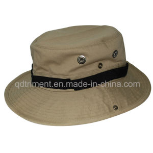 Good Quality Metal Button Twill Fisherman Sport Hat (TRBH014) pictures & photos
