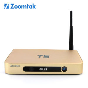 Zoomtak T5 Google Internet Smart TV Box with Xbmc Kodi Dual WiFi pictures & photos