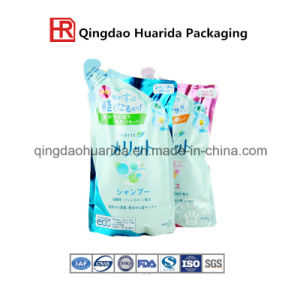 Supermarket Sell Stand up Liquid Packaging Bag for Shampoo pictures & photos