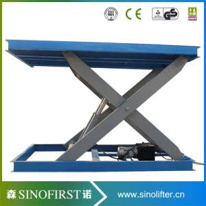 3000kg 3ton Stationary Car Scissor Lift Platform Table Lifts Electric pictures & photos