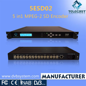 5 In1 MPEG-2 SD Encoder (5ESD02)