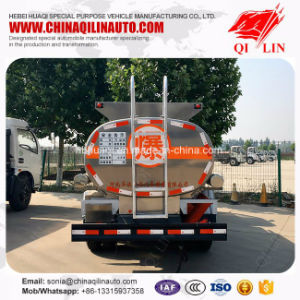 Aluminum Alloy Fuel Tank Truck with Commins 120HP Engine pictures & photos