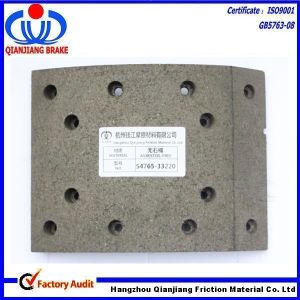 Auto Brake Parts Brake Liner for Truck Trailer Tractor Isuzu Hino Nissan Ud