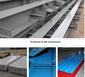 C Purlin and Corrugated Roofing Sheet for Building Materials pictures & photos