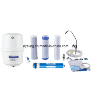 5 Stages Reverse Osmosis Water Filter with Dust Proof Case pictures & photos