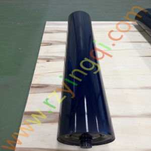 Conveyor Heavy Duty Impact Roller Rubber Disc Guide Side Rubber Rings Weigh HDPE Poly Idler Roll Roller for Mine Transportation