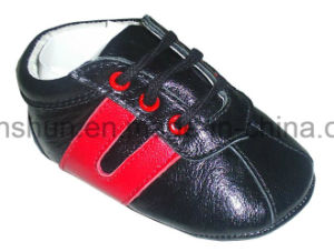 Leather Baby Sneakers T7076 pictures & photos
