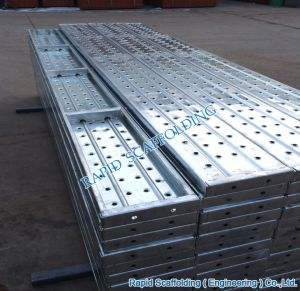 Galvanized Scaffolding Steel Planks Hot Sales Scaffold pictures & photos