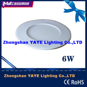 Yaye CE/RoHS Passed Round 6W LED Panel Light / 6W Round LED Panel Lights with 2/3years Warranty pictures & photos