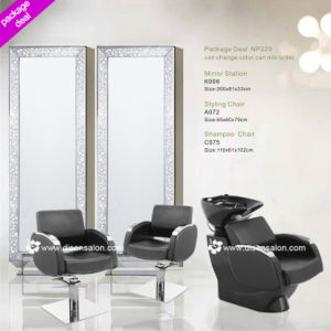 Styling Chair, Shampoo Chair, Salon Mirror (Package Deal NP223) pictures & photos