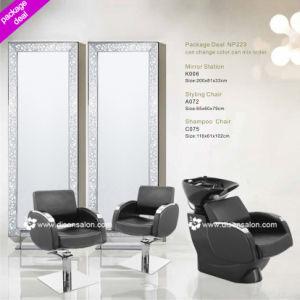 Styling Chair, Shampoo Chair, Salon Mirror (Package Deal NP223)