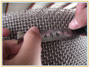 Low Carbon Crimped Wire Mesh pictures & photos
