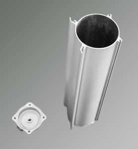 Aluminum Alloy Aluminum Profile Extrusion for Home Use Oxygen Concentrator pictures & photos