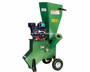 9HP Mini Mobile Wood Chipper Shredder with Ce pictures & photos