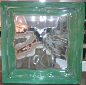Building Material House Decoration Tempered Glass Block (Sea wave) pictures & photos