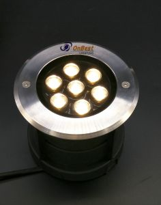 12VDC LED Light 7W LED Underground Light in IP68 for Underwater pictures & photos