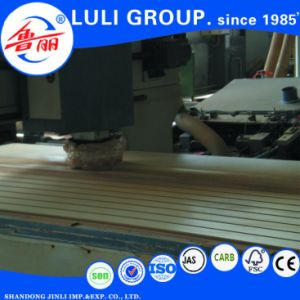 18mm Slotted MDF Board for Market /Wall Groove pictures & photos