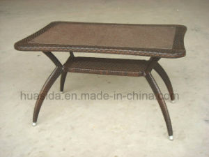 Outdoor Rattan Dining Table for Garden/Beach/Restaurant pictures & photos