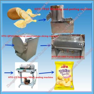 Semi-Automatic Potato Chip Machine with Best Price pictures & photos