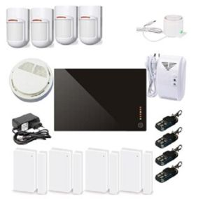 Multi-Language Alarm Panel Wireless Home Security System with Big Package pictures & photos