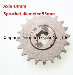 Mini Cross Transmission Gearbox Sprocket 20 Teeth pictures & photos