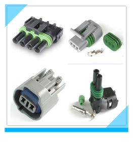 China Factory Delphi PA66 Connector Automotives pictures & photos